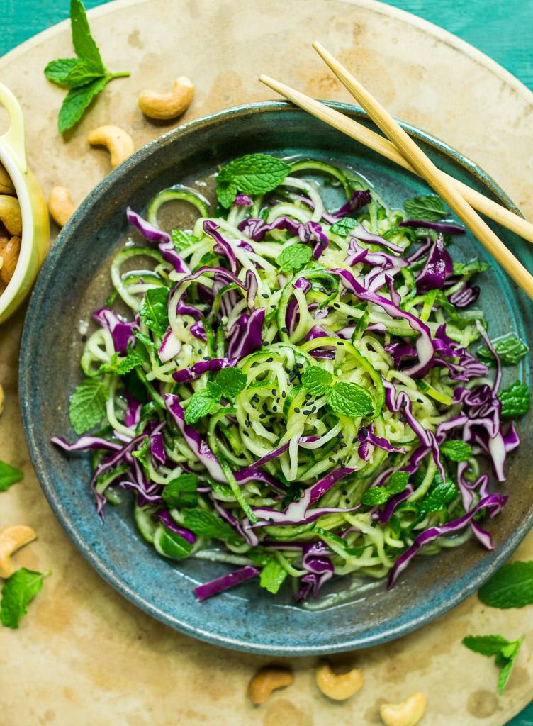 Cucumber Noodles Recipe — Dishmaps